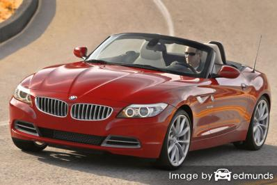 Insurance quote for BMW Z4 in Laredo