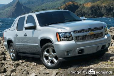 Insurance quote for Chevy Avalanche in Laredo