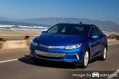 Insurance rates Chevy Volt in Laredo