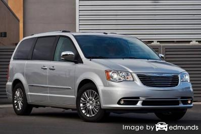 Insurance rates Chrysler Town and Country in Laredo