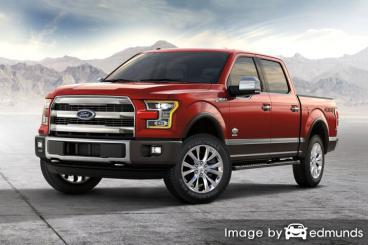 Insurance quote for Ford F-150 in Laredo
