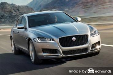 Insurance rates Jaguar XF in Laredo
