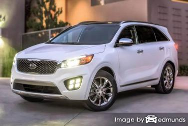Insurance rates Kia Sorento in Laredo
