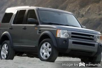 Insurance rates Land Rover LR3 in Laredo