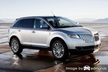 Insurance rates Lincoln MKT in Laredo