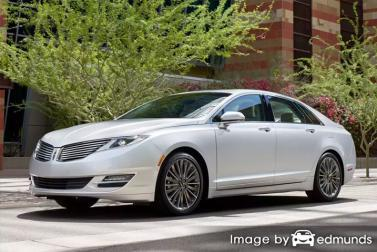Insurance quote for Lincoln MKZ in Laredo