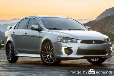 Insurance quote for Mitsubishi Lancer in Laredo