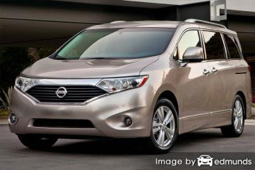Insurance rates Nissan Quest in Laredo