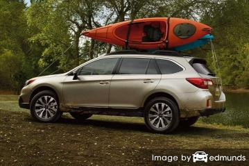 Insurance quote for Subaru Outback in Laredo