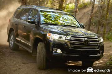Insurance quote for Toyota Land Cruiser in Laredo